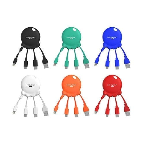 Octopus-Bosster-Powerbank-Charging-Cable-Group