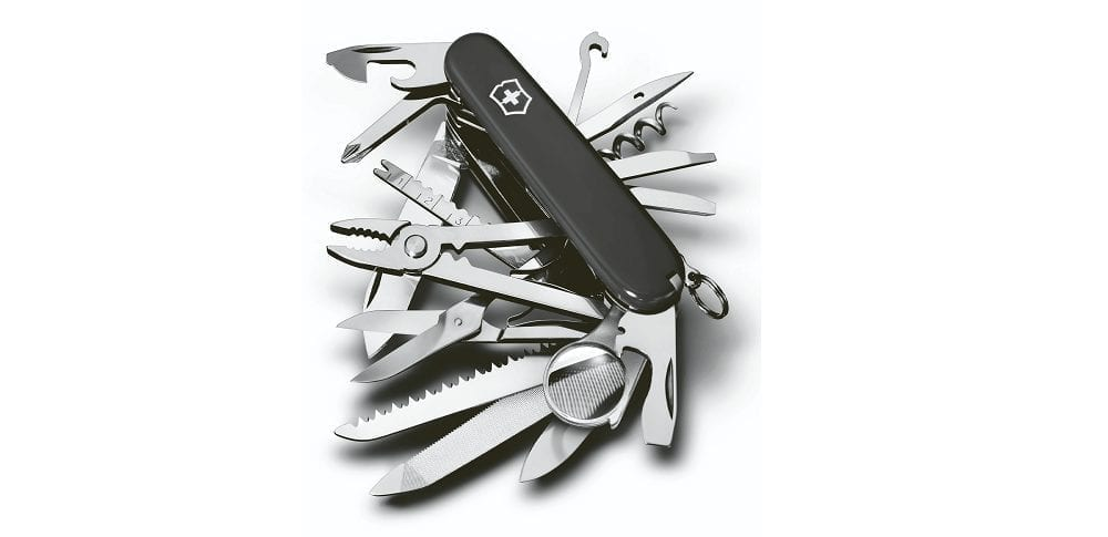 Victorinox Swiss Army Knives in black