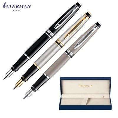 Zest Promotional Waterman pens, like the Waterman Expert Fountain Pen.
