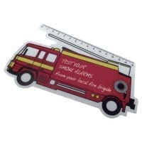 150mm Fire Engine Rulers