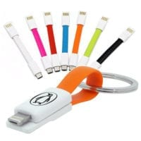 Mini Magnet 2 in 1 Sync and Charger Keyrings
