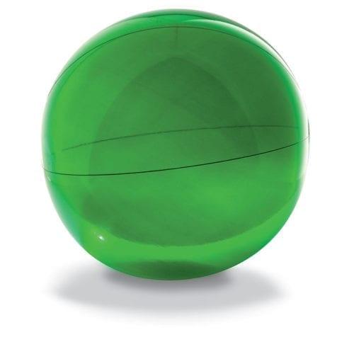 28cm-Transparent-Beach-Balls-Green