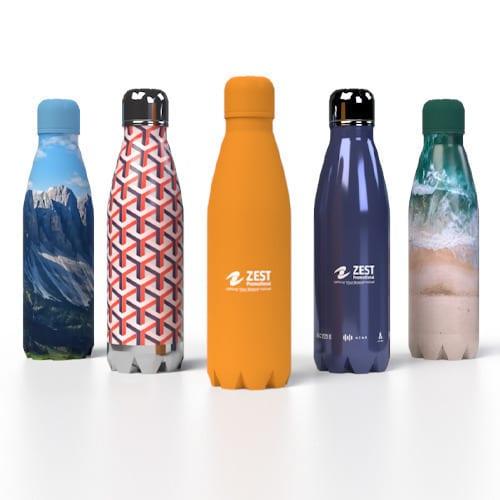 Bespoke Insulated Bottles Branded