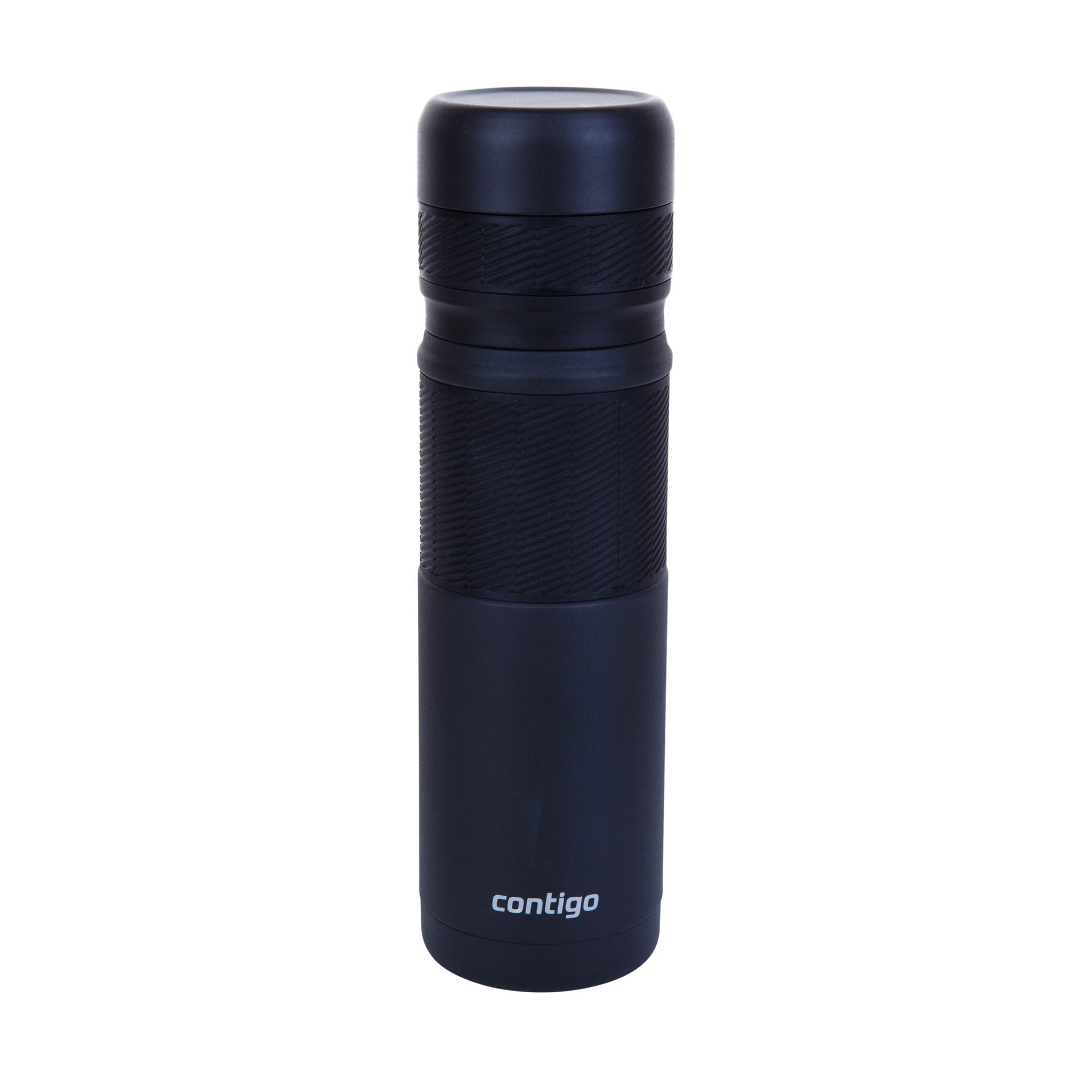 Contigo 740ml Thermal Bottle Front View in lid on