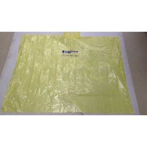 Disposable-0-02mm-PE-Rain-Poncho-yellow