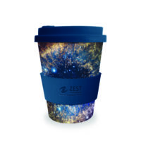 350ml Full Colour Wrap Bespoke Design Bamboo Mugs