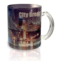 Glass Photo Mug