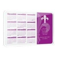 Calendar Metal Coasters