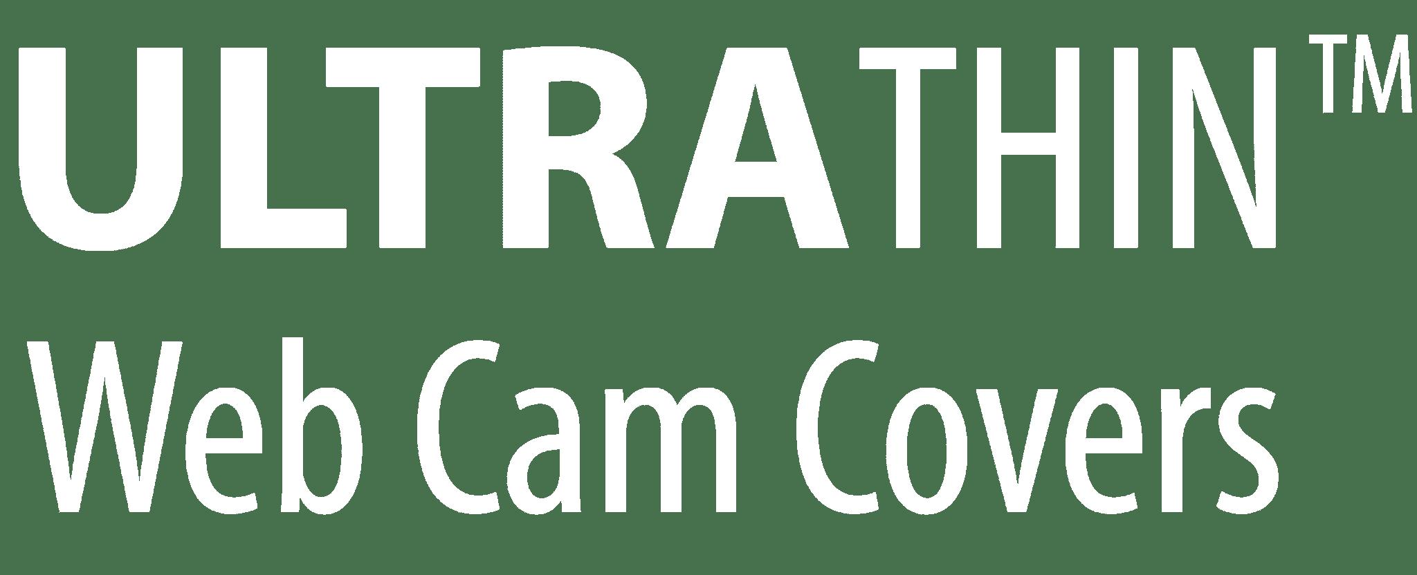 Ultra Thin Webcam Covers Logo
