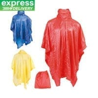 Montello Express Re-usable Rain Ponchos