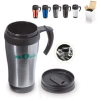 350ml Metal Thermo Mugs
