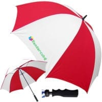Budget Fibreglass Windproof Golf Umbrellas