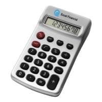 Silver Plastic Calculators