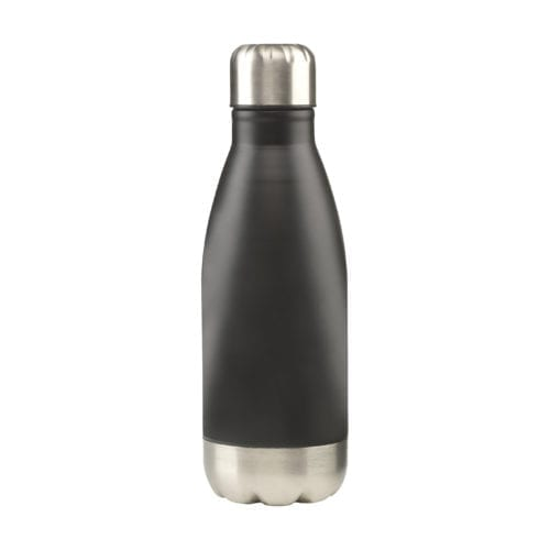 Small Topflask Bottle with lid on black option