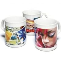 Duraglaze Sparta Style Photo Mugs