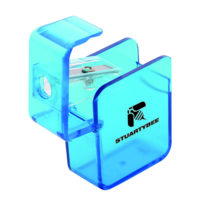 Square Frosted Blue Pencil Sharpeners