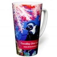 Duraglaze Tall Latte Photo Mugs