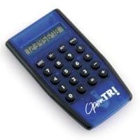 Transparent Pocket Size Calculators