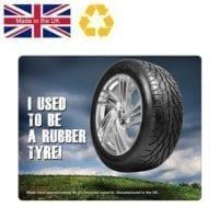 Brite-Mat Rectangular Tyre Mouse Mats