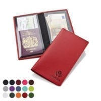 Belluno PU Economy Travel Wallets