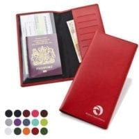 Belluno PU Travel Wallet With Card Slots