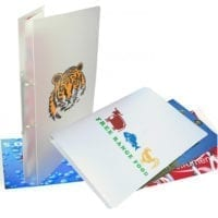 Polypropylene Plastic A4 Ring Binders
