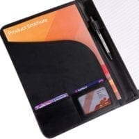 Balmoral Leather A4 Conference Folders