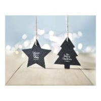 Slate Christmas Decorations