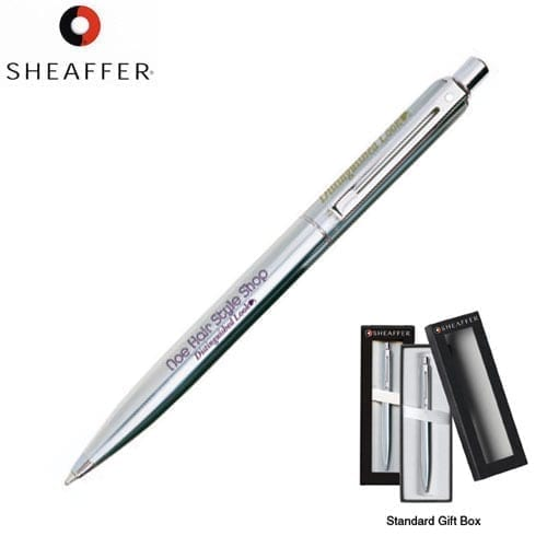 Sheaffer Sentinel Brushed Crome Ball Point Pens