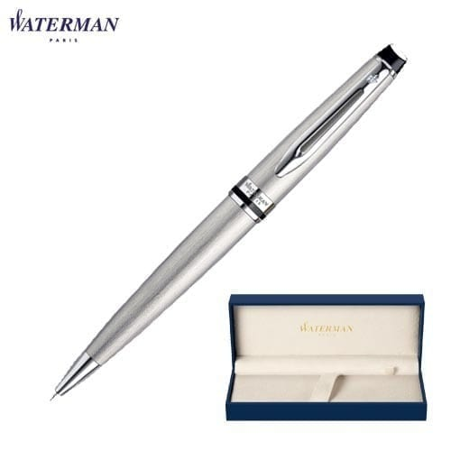 Waterman Expert Stainless Steel Ballpoint Pens