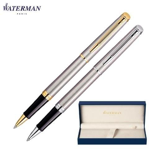 Waterman Hemisphere Stainless Steel Rollerball Pens