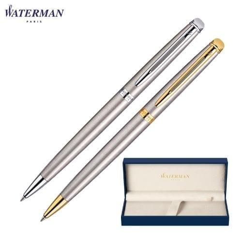 Waterman Hemisphere Stainless Steel Ballpoint Pens