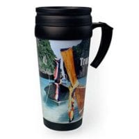 Malabar 365ml Photo Travel Mugs