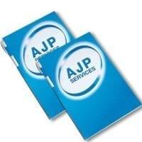 A4 Die Cut Pen Pads