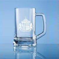 0.395ltr Small Plain Straight Sided Tankards