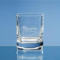 10oz Strauss Square Whisky Tumblers