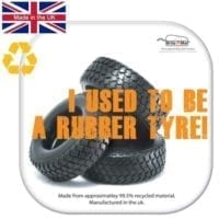 Brite-Mat Tyre Recycled Coasters