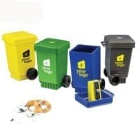Wheelie Bin Recycled Pencil Sharpeners