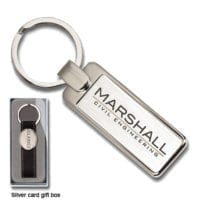 Elite Rectangular Keyrings