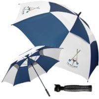 Budget Fibreglass Vented Golf Umbrellas