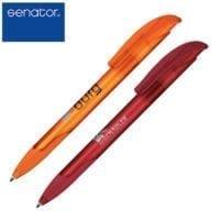 Senator Challenger Soft Clear Ball Pens
