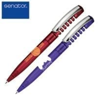 Senator New Spring Metal Clear Ball Pens