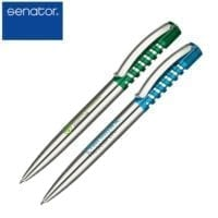 Senator New Spring Chrome Clear Ball Pens