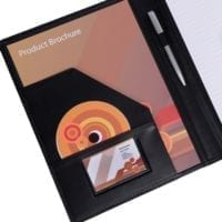 Ascot Leather A4 Conference Folders