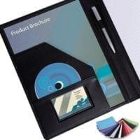 Belluno PU A4 Conference Folders
