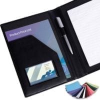 Belluno PU A5 Conference Folders