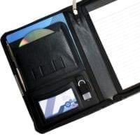 Sandringham Leather Zipped A5 Conference Folder