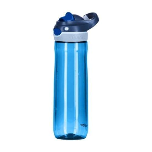 Promotional Contigo Autospout Chug Bottles Blue Side