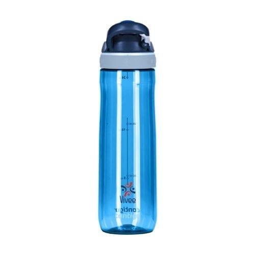 Promotional Contigo Autospout Chug Bottles Branded Blue