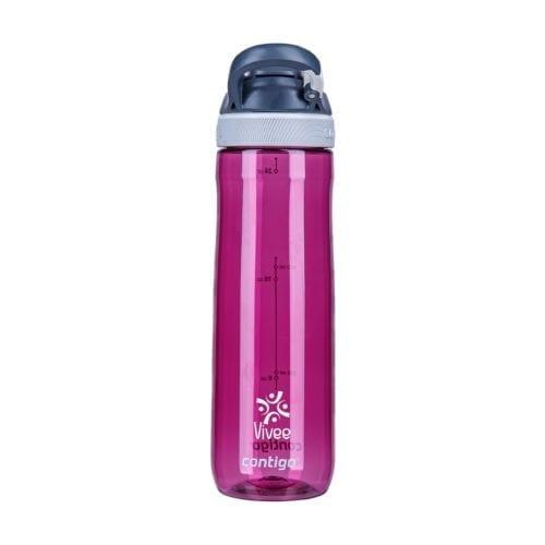 Promotional Contigo Autospout Chug Bottles Branded Purple